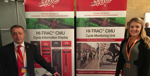 Q-Free TDC Display Cycle Monitoring Systems at 3rd Annual Cycle City Active City